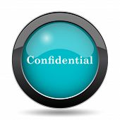 Confidential Icon poster