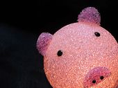 Recycled Plastics Piggy Bank
