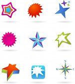 colección de iconos de estrellas