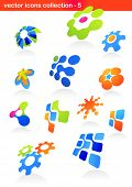 collection of abstract icons - 5
