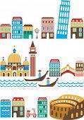 Italia - monumentos y lugares de interés