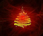 christmas design graphic