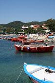 harbor in greece