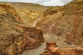 Exit From The Red Canyon