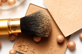 stock photo of face-powder  - Face powder  - JPG