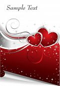 picture of valentines day card  - Valentine Days illustration - JPG