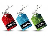 Floral Sales Tags