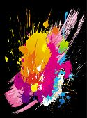 Vector colorful grunge backgrounds