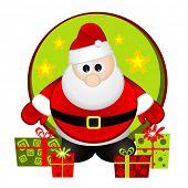 Ilustração do vetor de Papai Noel