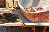 Brick Mason's Wheelbarrow