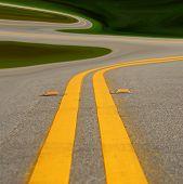 Muy curvas Road