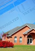 Defaulted Tax Bill and Brick Home