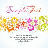 Floral colorful background 5