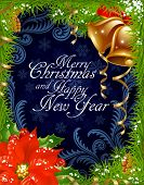 Christmas and New Year greeting card 4