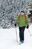 Winter, Ski touring