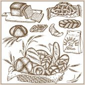 Doodle grain set