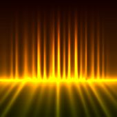 Abstract fire lights vector background.