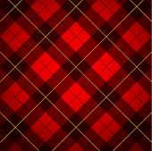 stock photo of tartan plaid  - Wallace tartan background - JPG