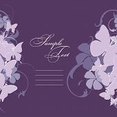 stock photo of wedding invitation  - invitation card - JPG