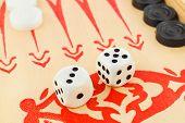 Backgammon Dices