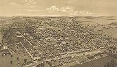 Honey Grove, Texas,  Fannin County 1886