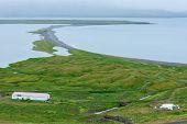 Trollaskagi Peninsula In North Iceland poster