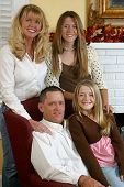 Attractive Blond Family 1