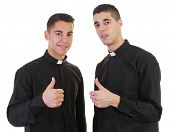 Thumbs Up Priest
