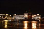 View of Mariinsky Palace at night