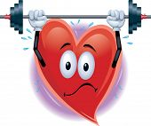 Heart Man Working Out