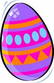 Vector Illustration of a Easter Egg