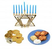 Chanukah Design-Elemente