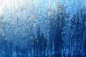 Wet Glass After Rain