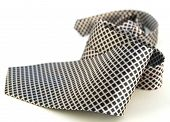 Diamond Shaped Fabric On A Tie