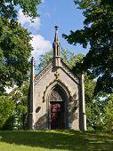 Capela na pequena cidade de Deutch