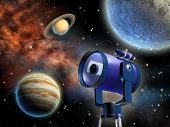 Постер, плакат: Астрономия