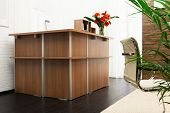 new reception in a modern office