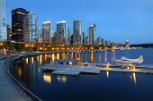 Coal Harbor Morning, Vancouver