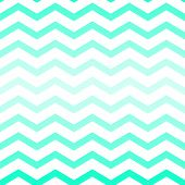 Shades of neon green chevron seamless pattern on white, vector