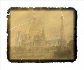 Vintage Postcard From Paris