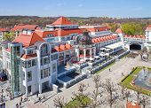 old spa house in Sopot, Poland
