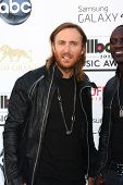 LOS ANGELES -  MAY 19:  David Guetta arrives at the Billboard Music Awards 2013 at the MGM Grand Gar