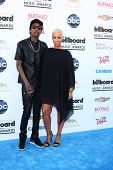 LOS ANGELES -  MAY 19:  Wiz Khalifa and Amber Rose arrive at the Billboard Music Awards 2013 at the