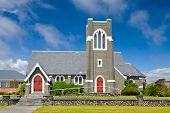 St Andrew's United Church in Hokitika, New Zealand