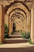Ancient Stables Of Meknes poster