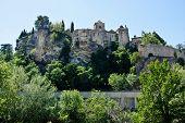 View of Vaison-la-Romaine