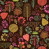 image of october  - seamless autumn pattern - JPG