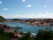 Colorful Inlet In St. Barts