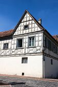 An Old House In Bamberg, Germany.