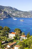 Aerial View Of Saint Jean Cap Ferrat, South Of France